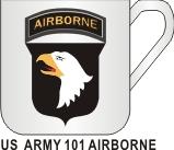 US ARMY 101 AIRBORNE MUG - Product Image