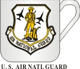 US AIR NATIONAL GUARD MUG - Product Image