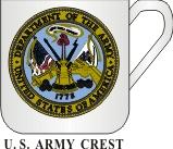 US ARMY CREST MUG - Product Image