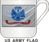 US ARMY FLAG MUG - Product Image