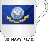 US NAVY FLAG  MUG - Product Image