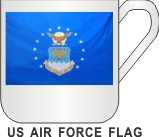 US AIR FORCE FLAG  MUG - Product Image
