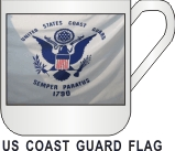 US COAST GUARD FLAG  MUG - Product Image