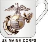 US MARINE CORPS MUG - Product Image