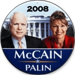 MCCAIN PALIN BUTTONS - Product Image
