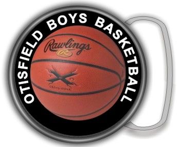 BASKETBALL BUCKLE ROUND - Product Image