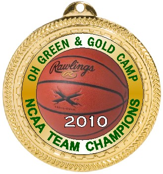 BASKETBALL MEDAL - Product Image