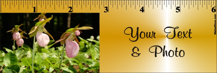 BOOKMARK / RULER FLOWERS - Product Image