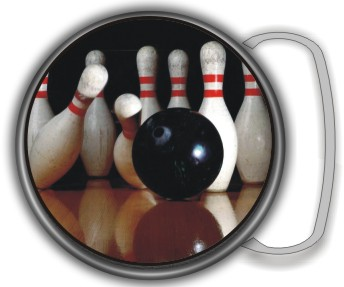 BOWLING BUCKLE ROUND - Product Image
