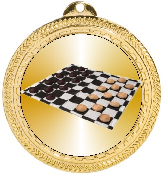 CHECKERS MEDAL - Product Image