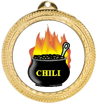 CHILI COOKOFF MEDAL - Product Image