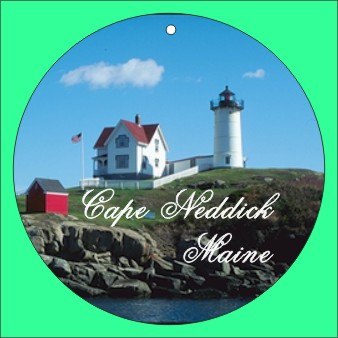 CHRISTMAS ORNAMENT CAPE NEDDICK LIGHT - Product Image