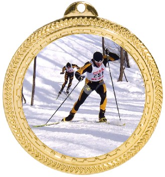CROSS COUNTRY SKI MEDAL - Product Image