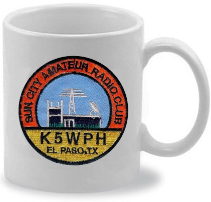 CUSTOM HAM RADIO COFFEE MUG 11 OZ - Product Image
