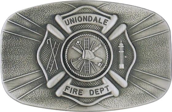 FIRE  DEPT. CAST BUCKLE - Product Image