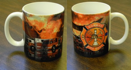 FIRE DEPT COFFEE MUG 11 OZ - Product Image