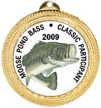 FISH BASS MEDAL - Product Image
