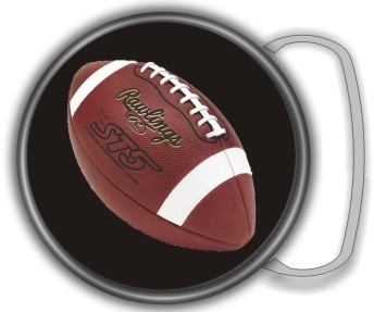 FOOTBALL BUCKLE ROUND - Product Image