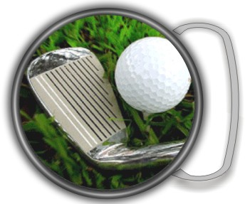 GOLF BUCKLE ROUND - Product Image