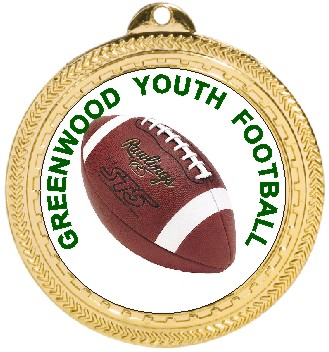 FOOTBALL MEDAL - Product Image