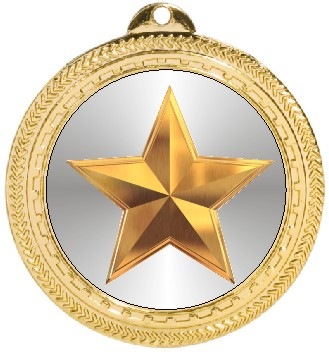 GOLD STAR MEDAL - Product Image