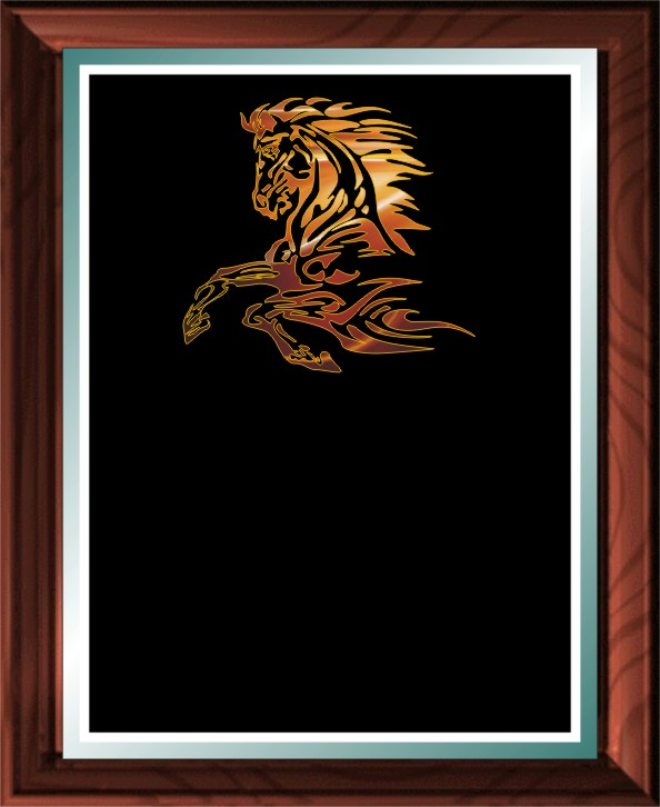 HORSE FIRE PLAQUE - Product Image