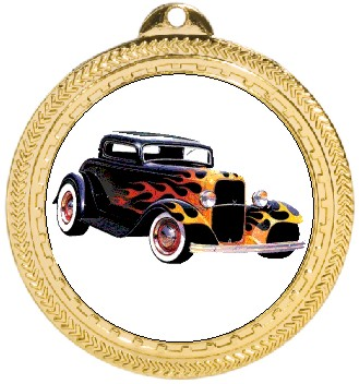 HOT ROD MEDAL - Product Image