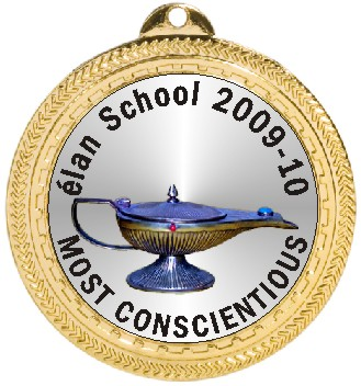 LAMP OF LEARNING MEDAL - Product Image