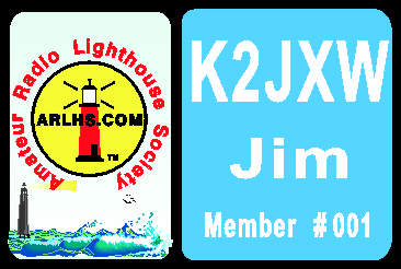 LIGHTHOUSE SOCIETY NAME TAG LARGE - Product Image