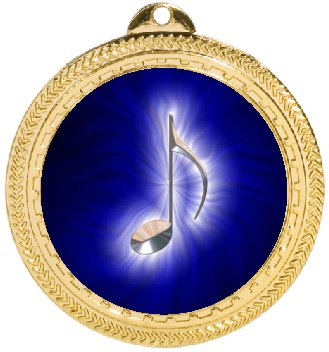 MUSIC NOTE MEDAL - Product Image