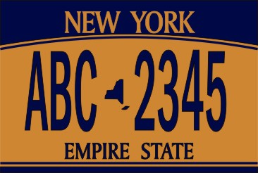 NAME TAG NEW YORK PLATE - Product Image