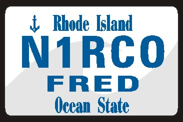 NAME  TAG  SMALL  RHODE  ISLAND WAVE - Product Image