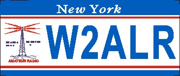 NEW YORK AMATEUR RADIO NAME TAG SMALL - Product Image