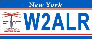 NEW YORK AMATEUR RADIO NAME TAG SMALL - Product Image