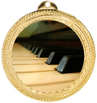 PIANO KEYS MEDAL - Product Image