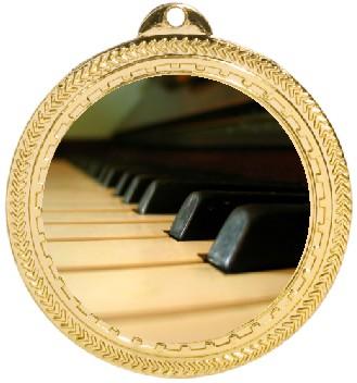 PIANO KEYS MEDAL - Product Image