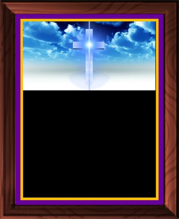RELIGION CROSS PLAQUE - Product Image