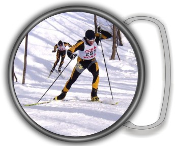 SKI CROSS COUNTRY BUCKLE ROUND - Product Image
