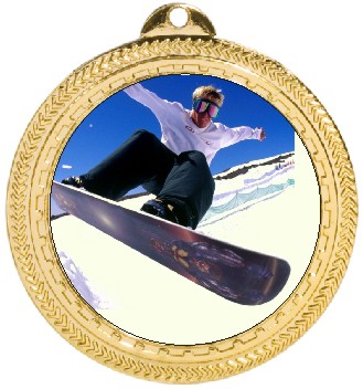 SNOWBOARD MEDAL - Product Image
