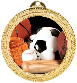 SPORTS BALLS MEDAL - Product Image