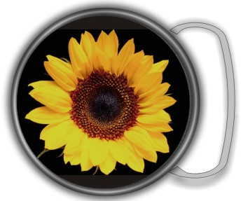 SUNFLOWER BUCKLE ROUND - Product Image