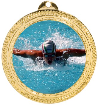 SWIMMING MEDAL - Product Image