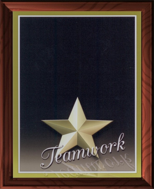 TEAMWORK PLAQUE - Product Image