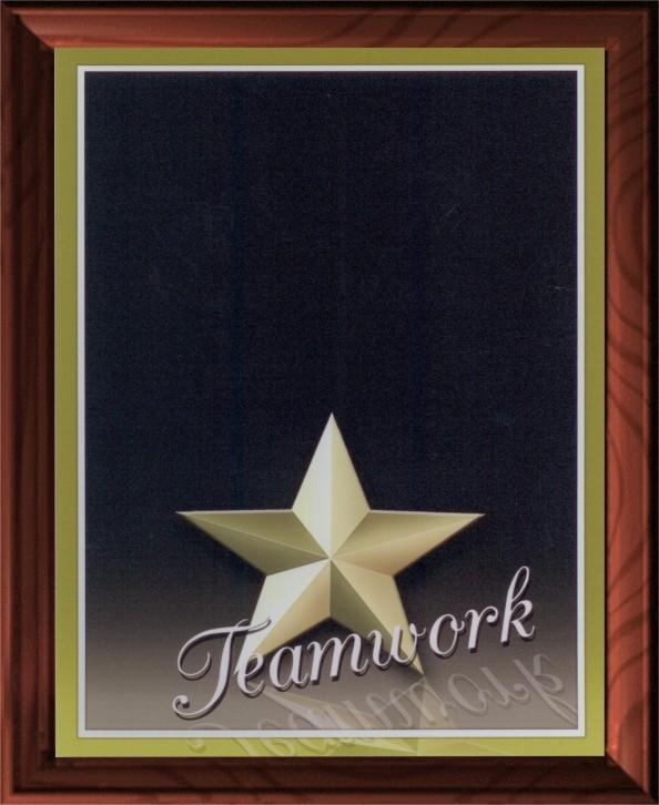 TEAMWORK PLAQUE - Product Image