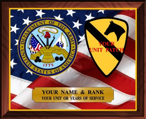 US ARMY SERVICE PLAQUE - Product Image