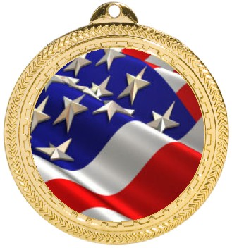 US FLAG MEDAL - Product Image