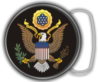 US SEAL BUCKLE ROUND - Product Image