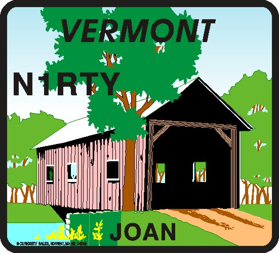 VERMONT MOUSE PAD COVERED BRIDGE - Product Image