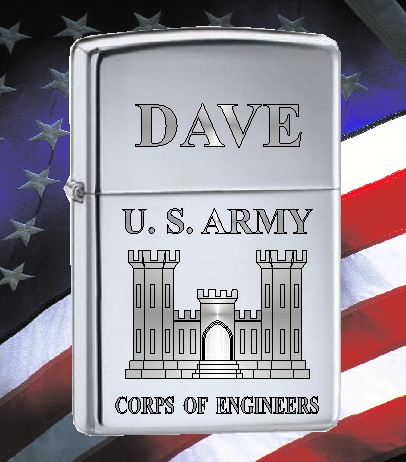 ZIPPO LIGHTER CORPS OF ENGINEERS - Product Image