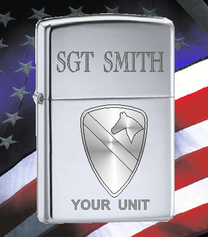 ZIPPO LIGHTER US ARMY 1 CALVERY - Product Image